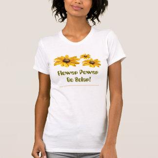 Flower Power Go Solar! Shirts
