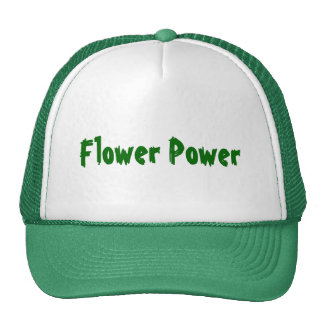 Flower power gorro de camionero