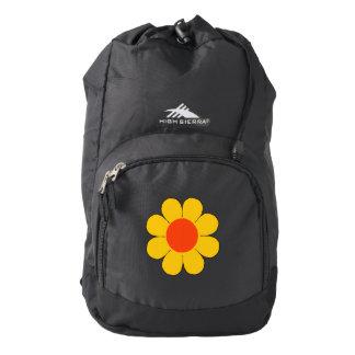 Flower power mochila