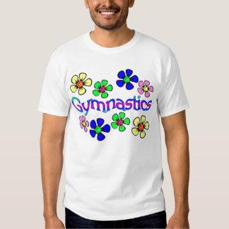 Flower Power Gymnast Tee Shirt