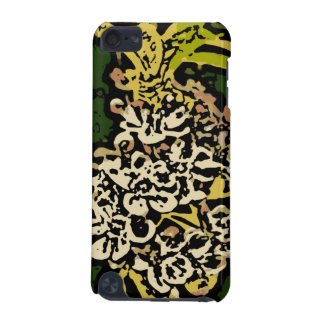 Flower Power in Gold and White iPod Touch 5G Case