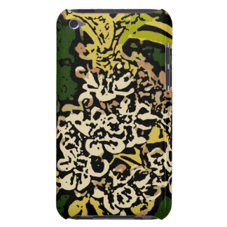 Flower Power in Gold and White Case-Mate iPod Touch Case