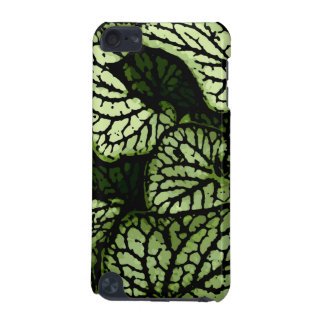 Flower Power in Green and Brown iPod Touch (5th Generation) Cover