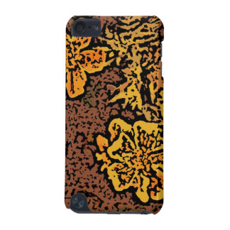Flower Power in Orange and Yellow iPod Touch (5th Generation) Covers
