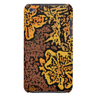 Flower Power in Orange and Yellow Barely There iPod Cases