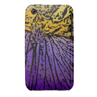 Flower Power in Purple and Yellow iPhone 3 Case-Mate Case