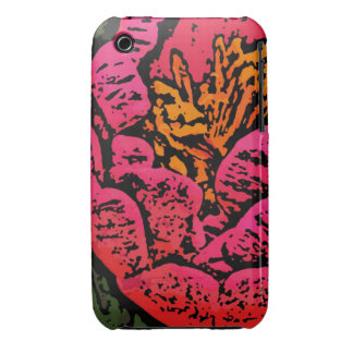 Flower Power in Red and Yellow iPhone 3 Cover