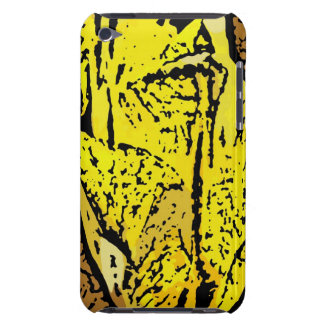 Flower Power in Yellow iPod Touch Cover