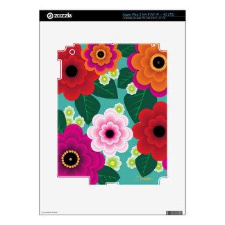 Flower Power - iPad 3 Skin