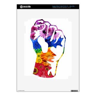 Flower power iPad 3 skins
