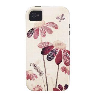 Flower power iPhone 4/4S carcasa