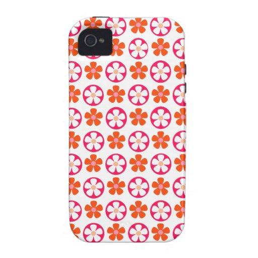Flower power iPhone 4 carcasa