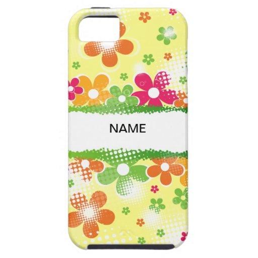 Flower power iPhone 5 cárcasa