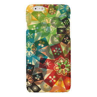 flower power glossy iPhone 6 case