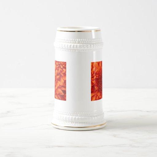 Flower power jarra de cerveza