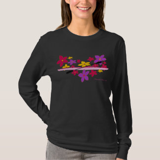 Flower Power Kayak T-Shirt
