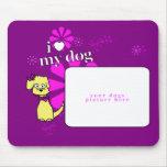 """Flower Power"" Kiley + Custom Photo Mousepad"