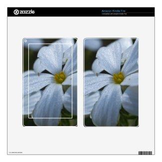 Flower Power Kindle Fire Skin