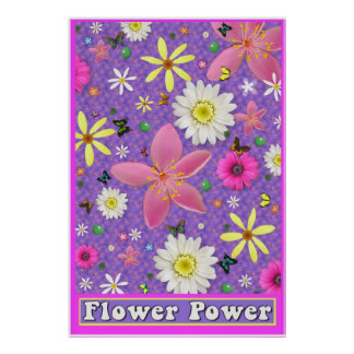 Flower Power Large Poster