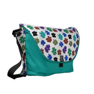 Flower Power Large Zero Messenger Bag