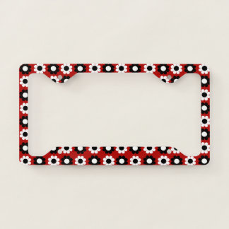 Flower Power License Plate Frame