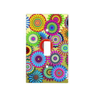 Flower Power Light Switch Cover