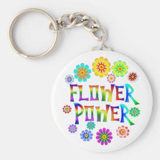 FLOWER POWER LLAVERO