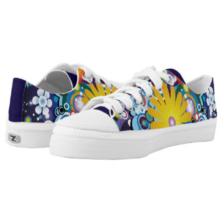 Flower Power Low Top Shoes