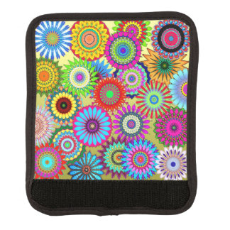 Flower Power Luggage Handle Wrap