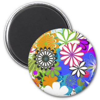 Flower Power! Fridge Magnets