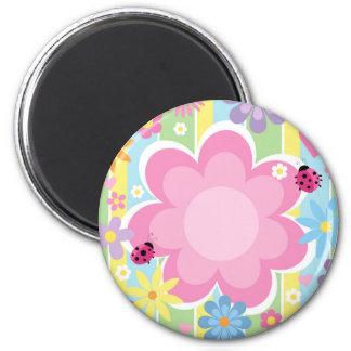 Flower Power Magnet