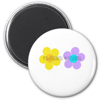 Flower Power Magnet
