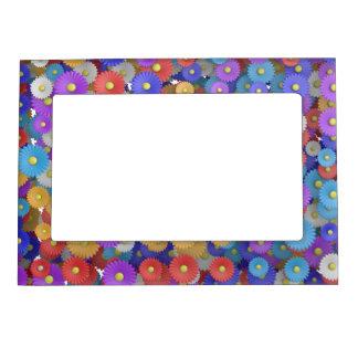 flower power magnetic frame