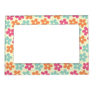Flower Power Magnetic Photo Frame