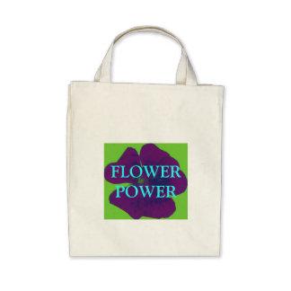FLOWER POWER MARKET BAG