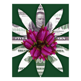 Flower Power Money Letterhead