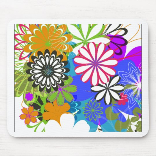 Flower Power! Mouse Pad