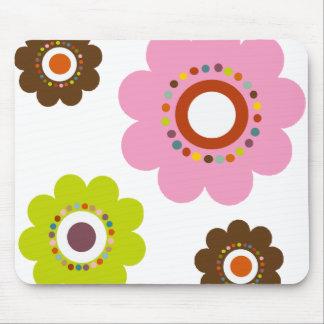 Flower power Mousepad Tapete De Ratones