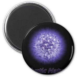 Flower-Power Mystic Nature 2 Inch Round Magnet