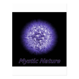 Flower-Power Mystic Nature Postcard