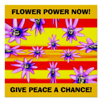 FLOWER POWER NOW! POSTER