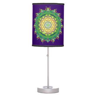 Flower Power of Life / Blume des Lebens Desk Lamp