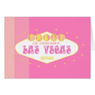 Flower Power Party In Las Vegas Card