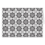 Flower Power Pattern Greeting Cards