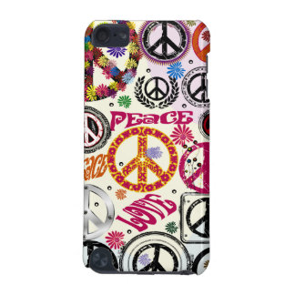 Flower Power Peace & Love Hippie iPod 5 Case iPod Touch (5th Generation) Cover