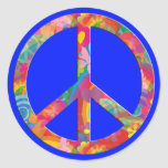 Flower Power Peace | royal Stickers