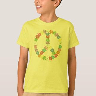 Flower Power Peace Sign T-Shirt