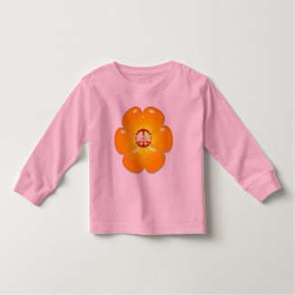 Flower Power Peace Sign Toddler T-shirt