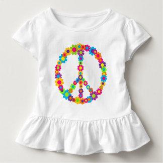 Flower Power Peace Toddler T-shirt