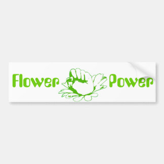 """Flower power "" Pegatina Para Auto"